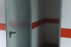 cerramiento de plaza de garaje trastero en torrevieja orihuela guardamar del segura
